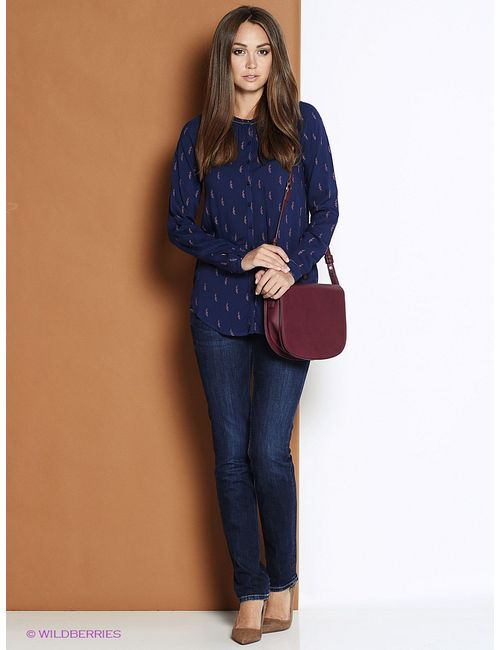 Pepe Jeans London | Женские Синие Рубашки