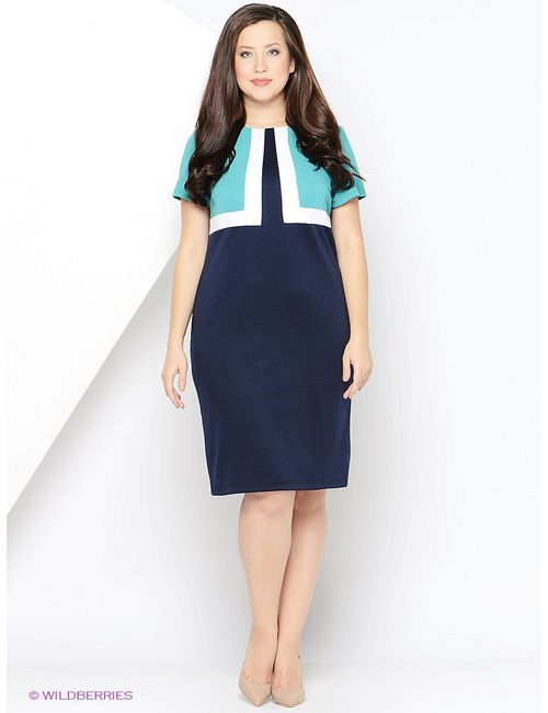 Regina Style   Женские Синие Платья
