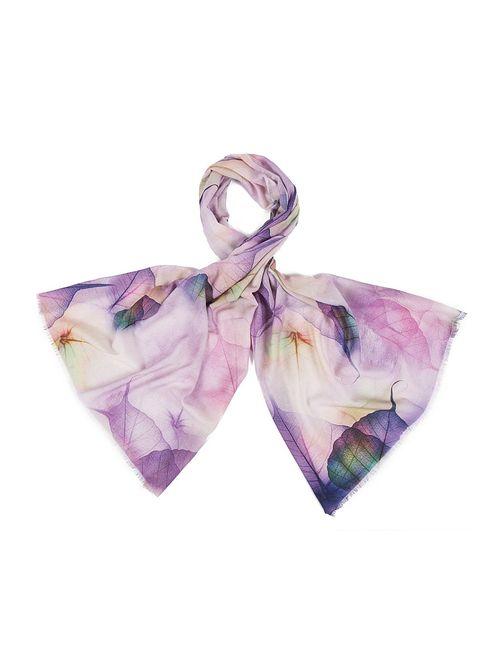 Модные истории | Женские Фиолетовые Палантины