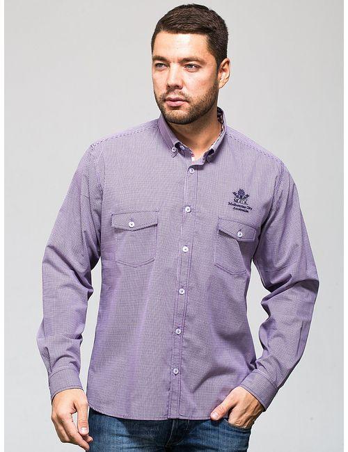 JOHN JENIFORD | Мужские Фиолетовые Сорочки