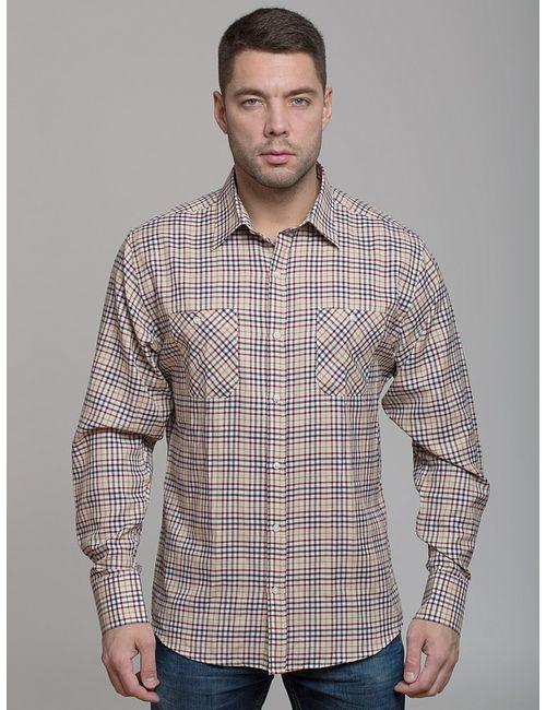 JOHN JENIFORD | Мужские Бежевые Рубашки