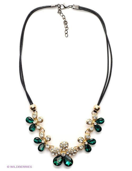Lovely Jewelry   Женское Зелёное Колье