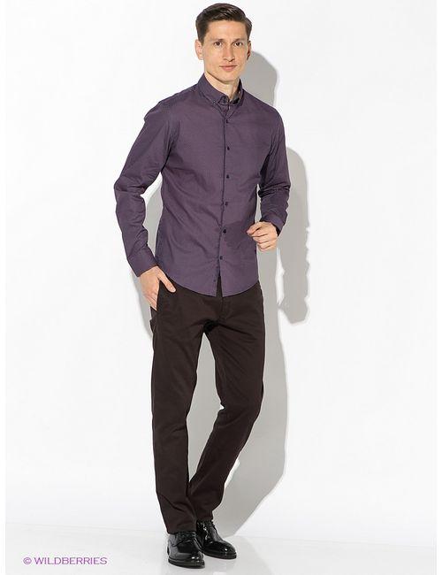 Oodji | Мужские Фиолетовые Рубашки