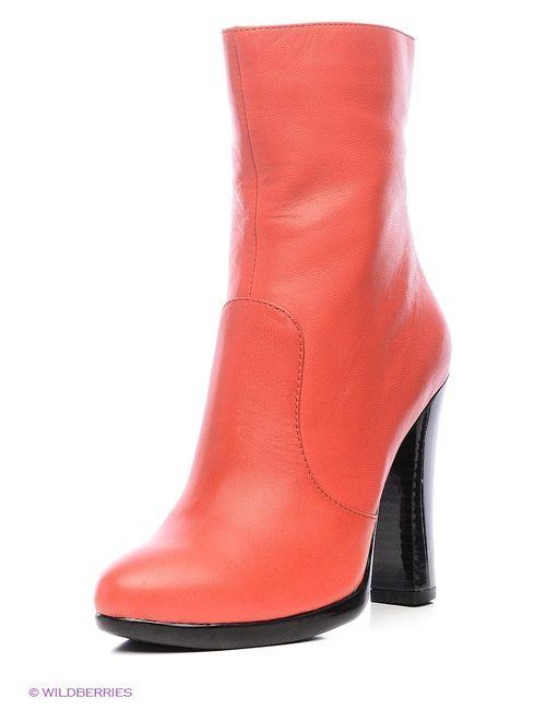 Moda Donna | Женские Красные Ботильоны
