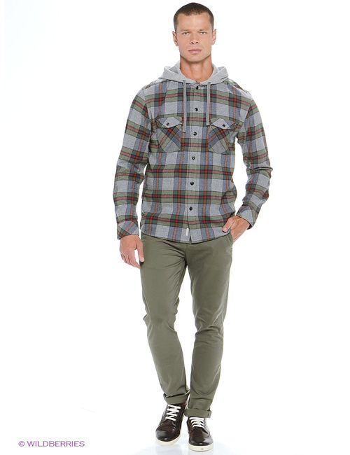 Quiksilver | Мужские Серые Рубашки