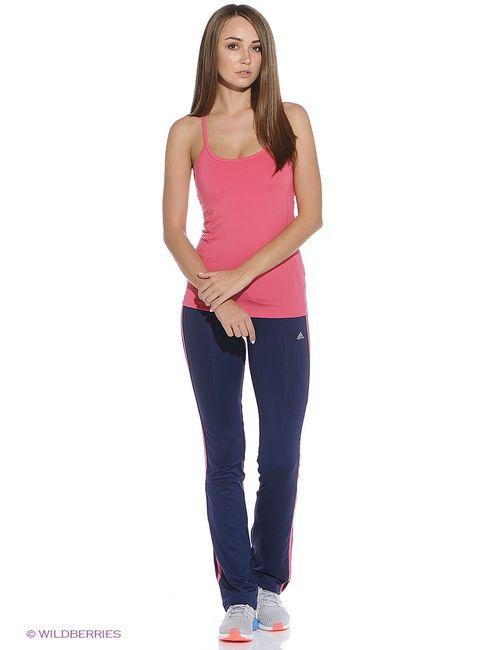 Adidas | Женский Розовый Топ