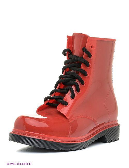 Cooper | Женские Красные Ботинки