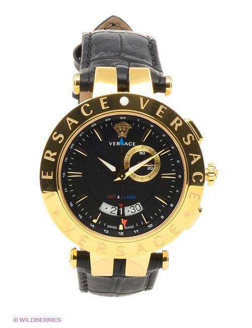 Versace | Мужские Чёрные Часы
