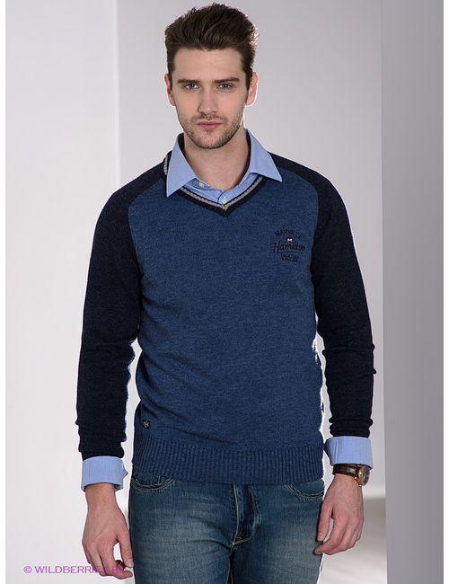 Marville | Мужские Синие Пуловеры