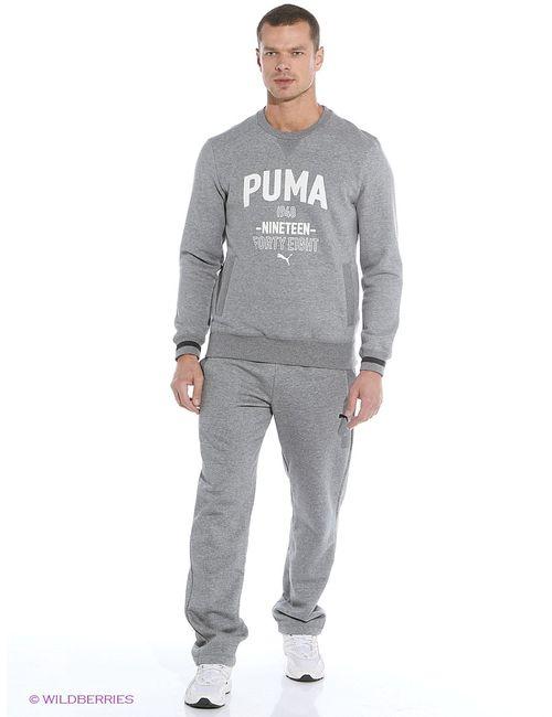 Puma | Мужские Серые Толстовки