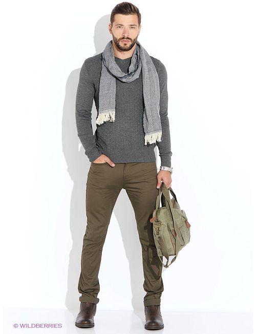 Baon   Мужские Серые Пуловеры