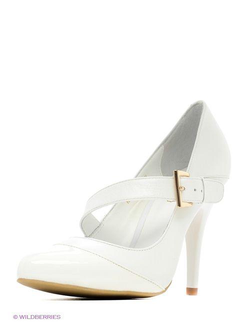 Moda Donna   Женские Белые Туфли