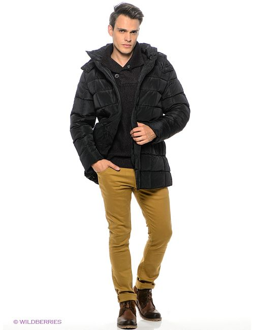 SNOWIMAGE   Мужские Чёрные Куртки