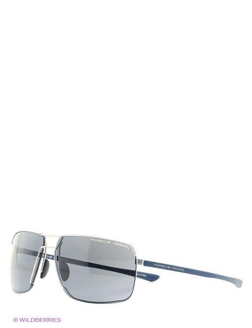 Porsche Design | Мужские Серебристые Солнцезащитные Очки