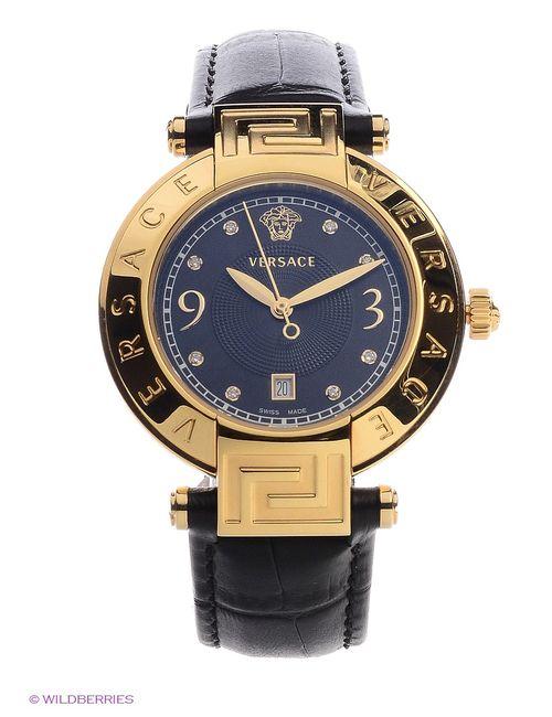 Versace | Женские Золотистые Часы