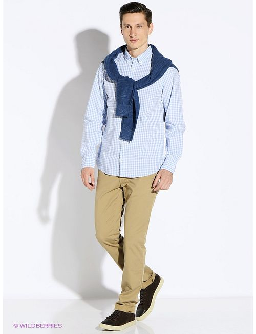 Tommy Hilfiger   Мужские Голубы Рубашки