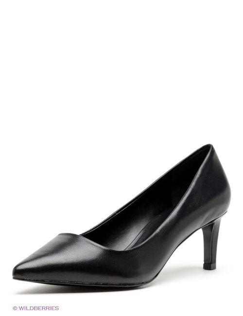 Mango | Женские Чёрные Туфли
