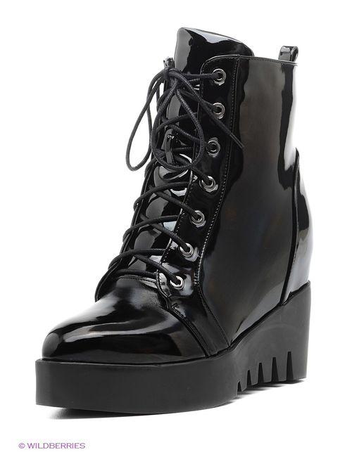 Daze | Женские Чёрные Ботинки