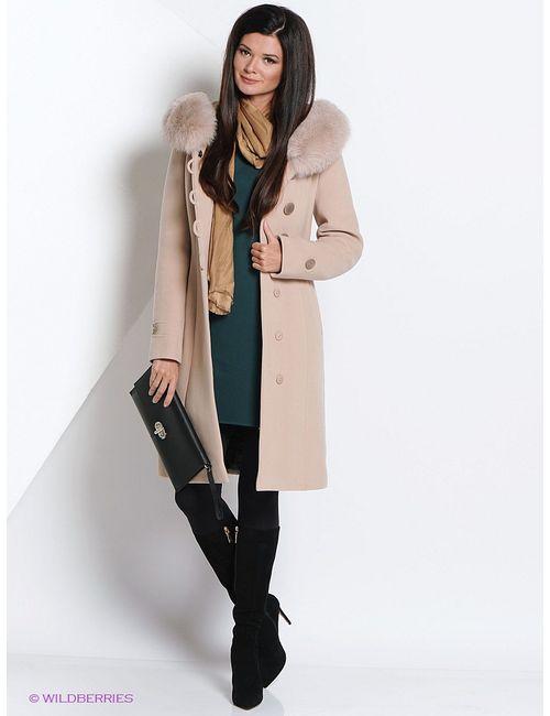 Electrastyle | Женское Бежевое Пальто