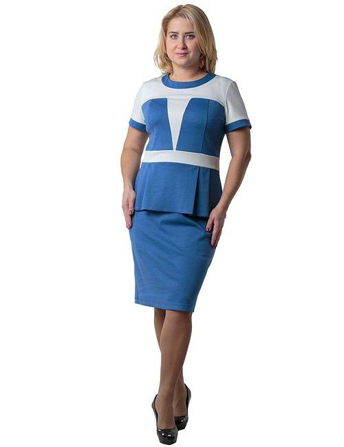 Regina Style | Женские Голубы Платья