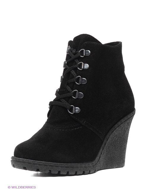 Riconte | Женские Чёрные Ботинки