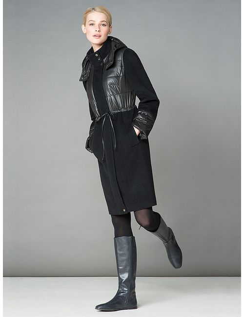 Pompa | Женское Черный Пальто