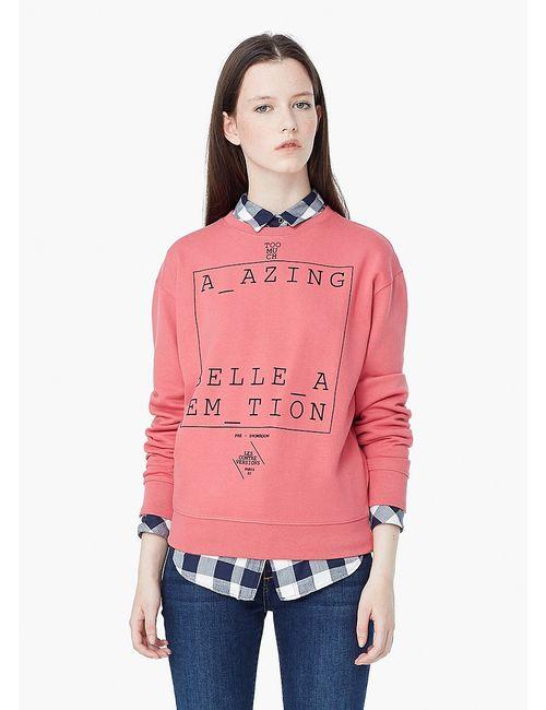 Mango | Женские Розовые Джемперы