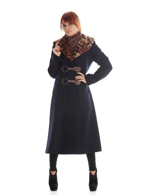 Artwizard | Женское Синее Пальто