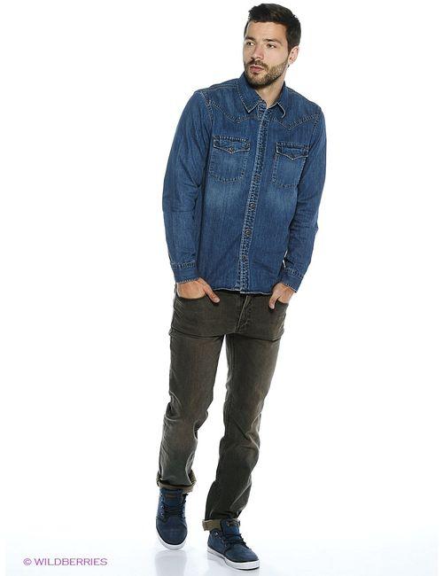 Dairos | Мужские Синие Рубашки