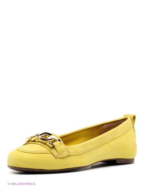 Velvet   Женские Жёлтые Балетки