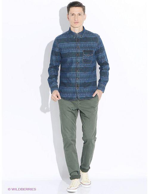 Mango Man | Мужские Синие Рубашки