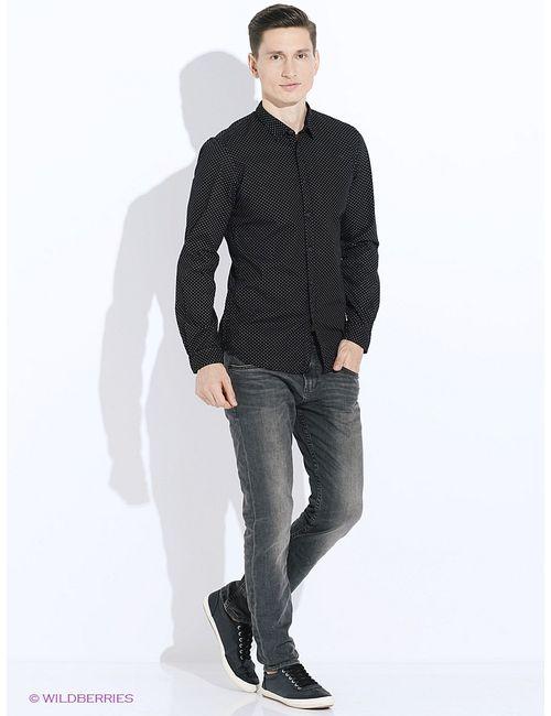 TOM TAILOR | Мужские Чёрные Рубашки