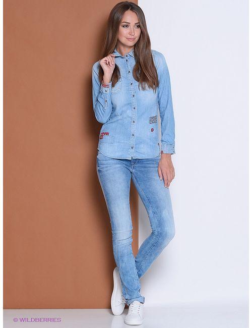 Pepe Jeans London | Женские Голубы Рубашки