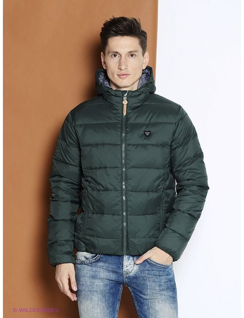 Pepe Jeans London   Мужские Зелёные Куртки