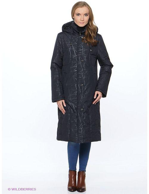 Maritta | Женское Синее Пальто