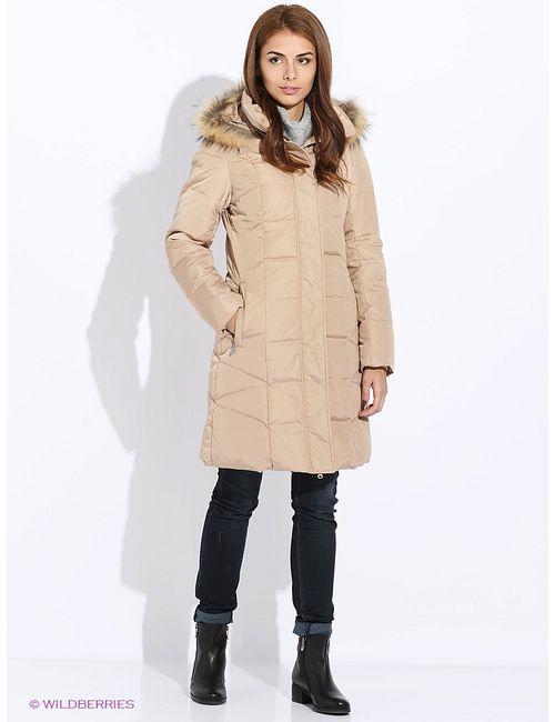 Sela   Бежевое Пальто