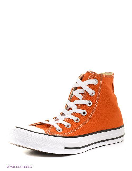 Converse   Мужские Оранжевые Кеды