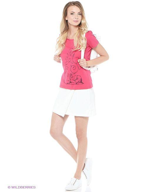 RHS | Женская Розовая Футболка