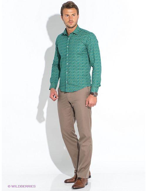 BAWER | Мужские Зелёные Рубашки