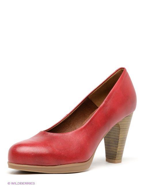 Pitillos | Женские Красные Туфли