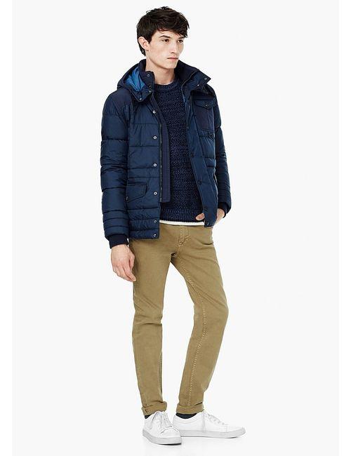 Mango Man | Мужские Синие Куртки