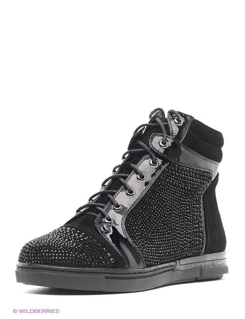 Evita | Мужские Чёрные Ботинки