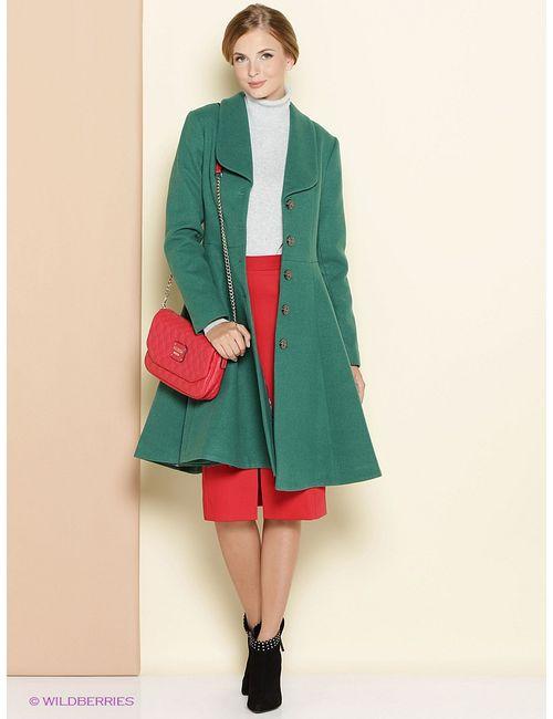 Stets | Женское Зелёное Пальто