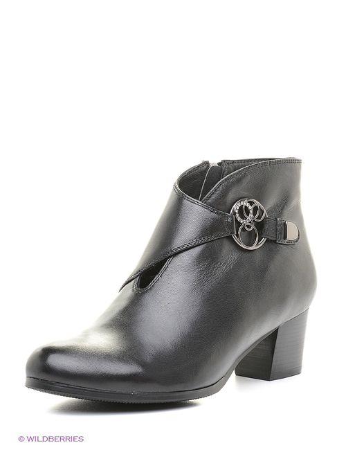Sinta Gamma | Женские Чёрные Ботинки