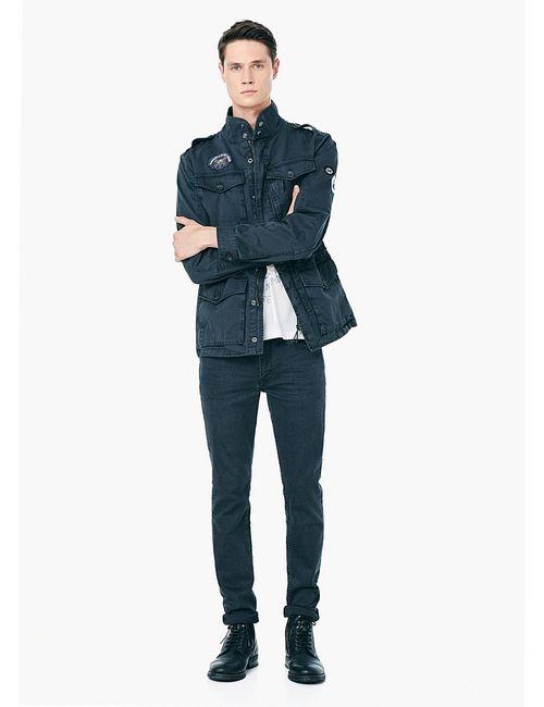 Mango Man   Мужские Антрацитовые Куртки