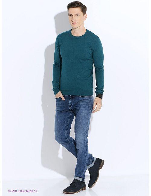 Oodji | Мужские Зелёные Джемперы
