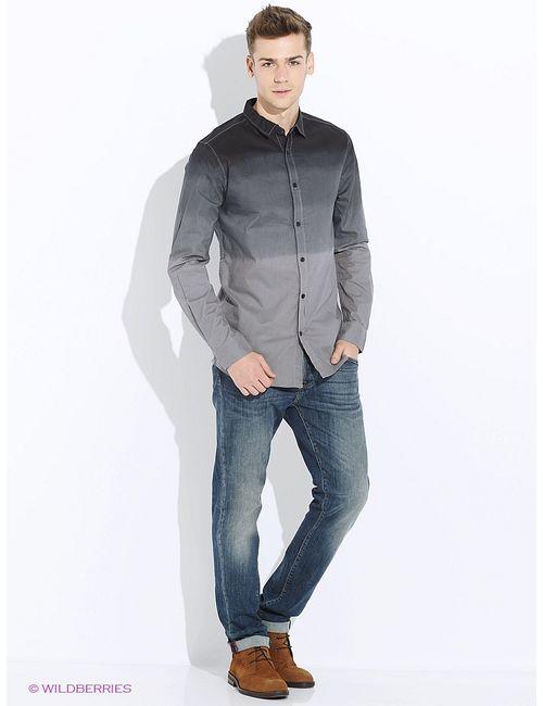 E-Bound by Earth Bound | Мужские Синие Рубашки