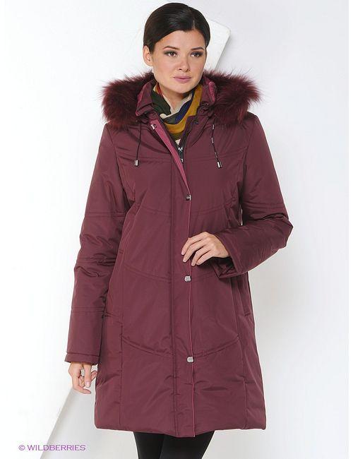 Maritta | Женское Красное Пальто