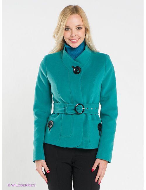 Klimini | Женское Зелёное Пальто