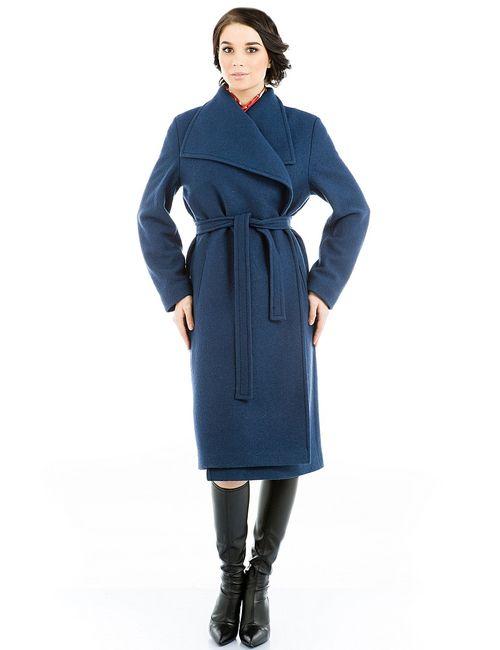 Levall | Женское Синее Пальто